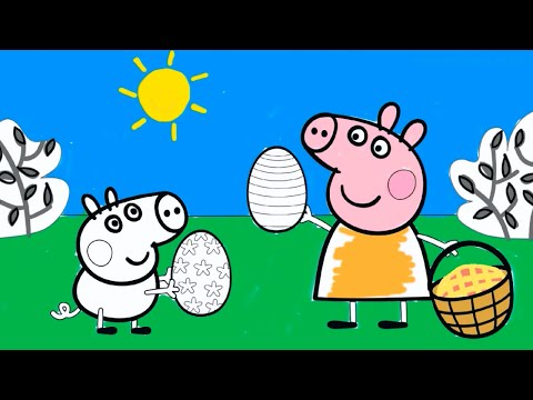 Peppa Pig Coloring Pages - Peppa Coloring Book
