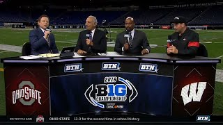 Ohio State Coach Ryan Day on Buckeyes Big Ten Title | Ohio State | B1G Football