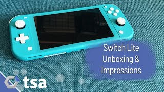Nintendo Switch Lite Unboxing & Impressions