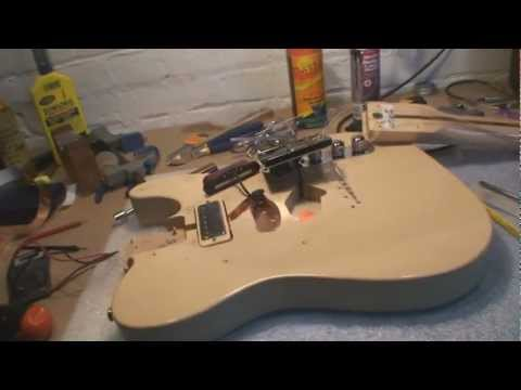 Brent Mason Telecaster Modification and Repair