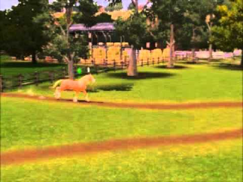 sims 3 Spirit - Stallion Of The Cimarron part 1