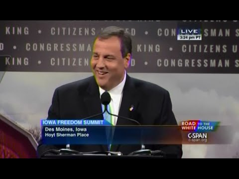 • Gov. Chris Christie • Iowa Freedom Summit • 1/24/15 •