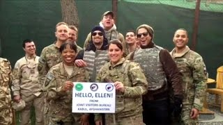 Channing Tatum Crashes Ellen's Video
