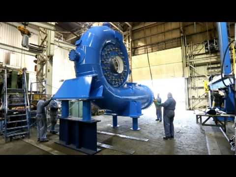 The Fabrication and Assembly of an 8. 5MW Francis Turbine at Ebco Industries