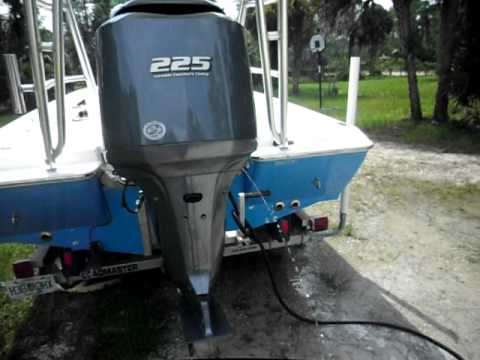 Yamaha 225 hp 4 stroke with 130 hours youtube for 225 yamaha 4 stroke