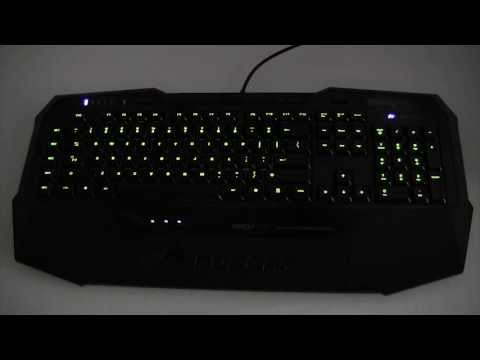 ROCCAT ISKU FX Gaming Keyboard Illumination