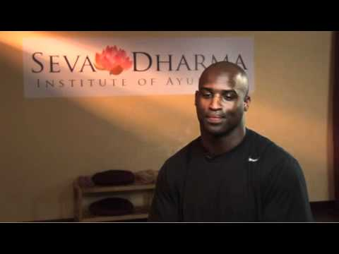 Ricky Williams, Dolphins running back and student of Ayurveda talks about ...