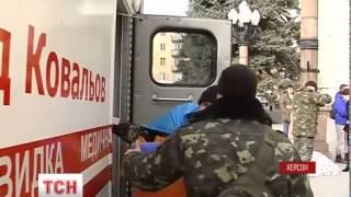 """Реанімобіль батальйону """"Херсон"""" вирушив до зони АТО - : 0:35"""