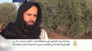تراجع صناعة زيت الزيتون في محافظة إدلب