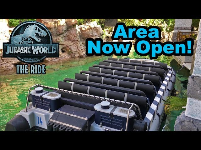 Jurassic World Ride Area Walkthrough | Universal Studios Hollywood thumbnail