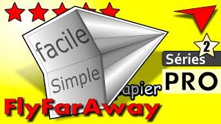 pliage origami facile comment faire un AVION EN PAPIER