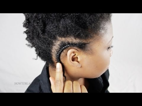 Cornrow French Braid For Black Women Hair Tips And Advice Tutorial Part 3