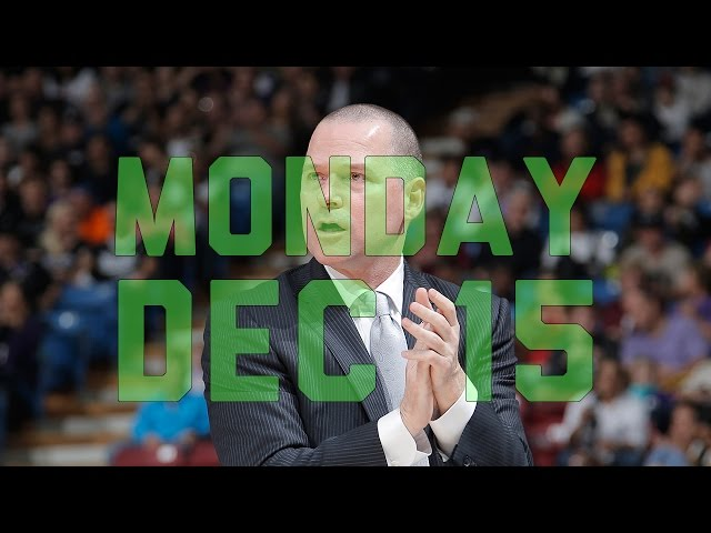 NBA Daily Show: Dec. 15th – The Starters