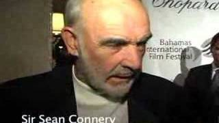 Sir Sean Connery & Daryl Hannah interview - Bahamas 2008