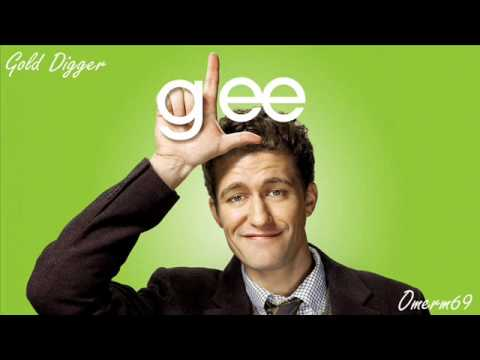 Glee Cast - Gold Digger ( HQ)