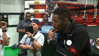 Willie Monroe Jr interview