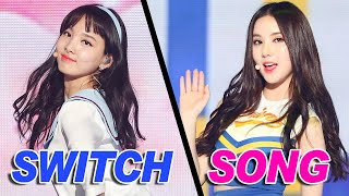 KPOP GROUPS SWITCH SONGS (TWICE, GFRIEND, GOT7 & MORE)