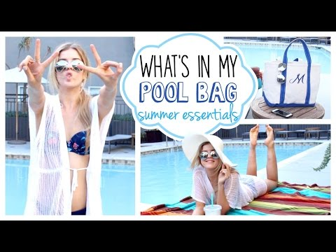 What's in My Pool Bag: Summer Essentials