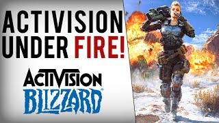 """Activision Brags About """"Record Year"""", Then Fires 800 Employees/Devs!"""