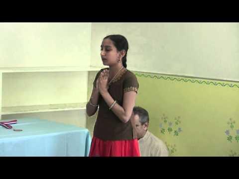 Harshitha - Gita Chanting video