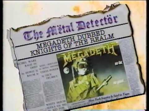 MEGADETH INTERVIEW 1988 MTV HEADBANGER'S BALL, JEFF YOUNG!