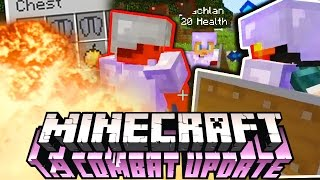 THE PACK SHIPS FIGHTING IT OUT! | Minecraft 1.9 Battle-Arena w/ The Pack