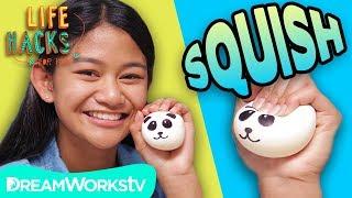 DIY Squishy Panda   LIFE HACKS FOR KIDS