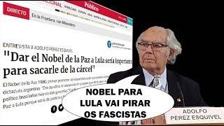 Condenação pode dar a Lula Nobel e liberdade