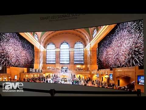 InfoComm 2015: Samsung Business Demonstrates Indoor LED Solutions
