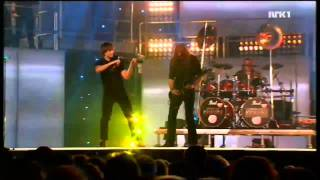 Клип Keep Of Kalessin - The Divine Land ft. Alexander Rybak (live)