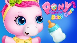 Fun Horse Care Kids Games - Pony Sisters Baby Care Babysitting Feed Play Bedtime Routine Kids Apps