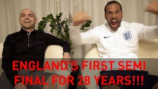 England's First Semi-Final for 28 years! | Rio's WC18 Vlogs