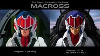 Macross Opening Video ? Original & Blu-ray Edition Comparison