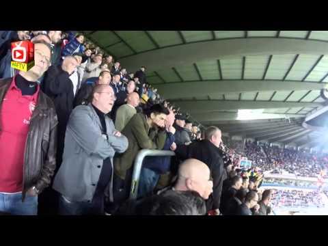 Arsenal Fans Go Mental in Belgium - Anderlecht 1 Arsenal 2