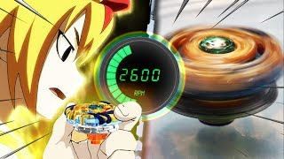 Beyblade SPIN STEAL HACK: 0% to MAX POWER - Beyblade Burst Anime VS Real Life Drain Fafnir!