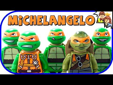 LEGO Michelangelo TMNT Minifigure Collection - BrickQueen