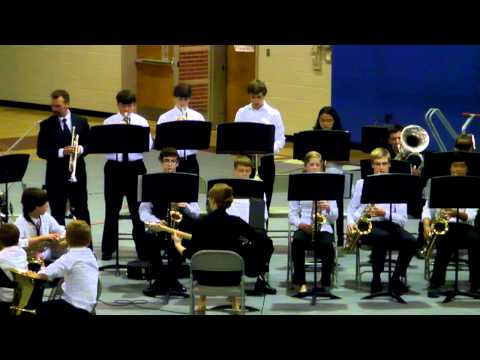 West Valley Middle School Jazz Band 2012 song 1