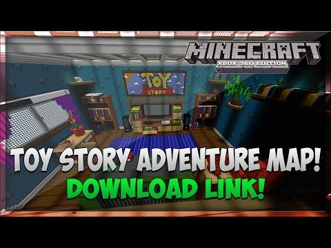 Minecraft Xbox 360: Toy Story Adventure Map! - Download Link
