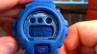DW6900MM-2 Matte Blue - Casio G-Shock Watch Review (Rare & Limited Edition)