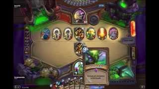 Hearthstone Tree of life vs Northshire Cleric