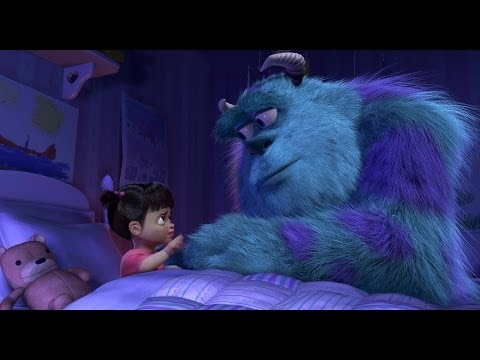Touching Goodbye Scene - Monsters Inc (Boo & Kitty)