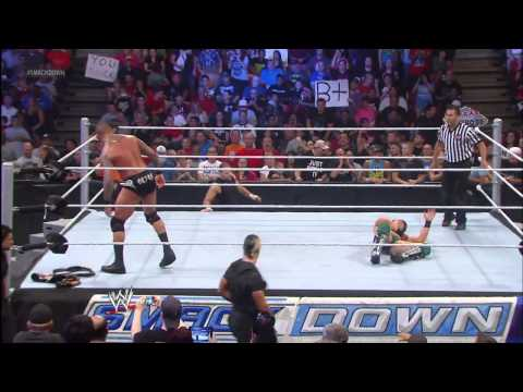 The Miz Vs. Randy Orton: Wwe Smackdown, August 30, 2013 video
