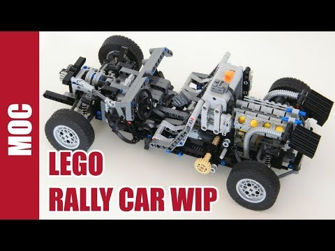 Lego Rally Car Part 1 : Frame