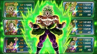 FULL POWER OF DESTRUCTION TEAM! FULL BROLY TEAM! (DBZ: Dokkan Battle)