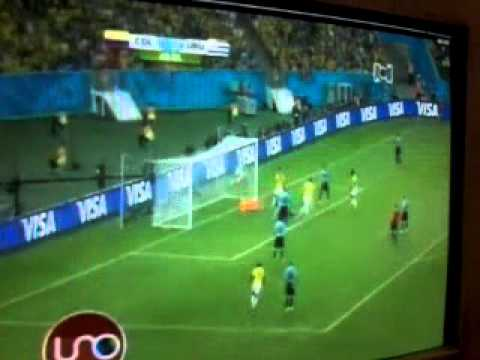 Colombia 2 Uruguay 0 . Goles de James Rodriguez en el Maracaná