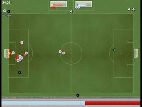 Football Manager 2008 - Lazio 4 - 1 Romamerda