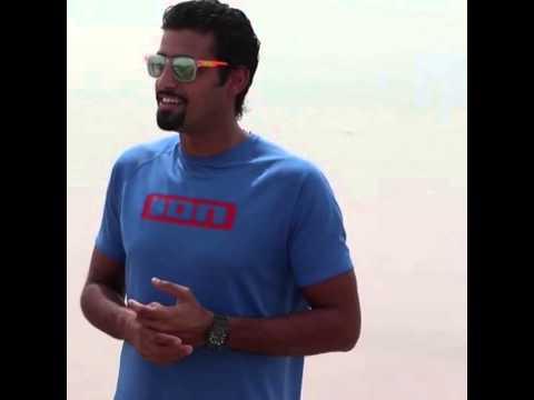 Salty sports kuwait kiteboarding intro