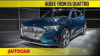 Audi e-tron E-SUV in India | First Look and Walkaround | Autocar India