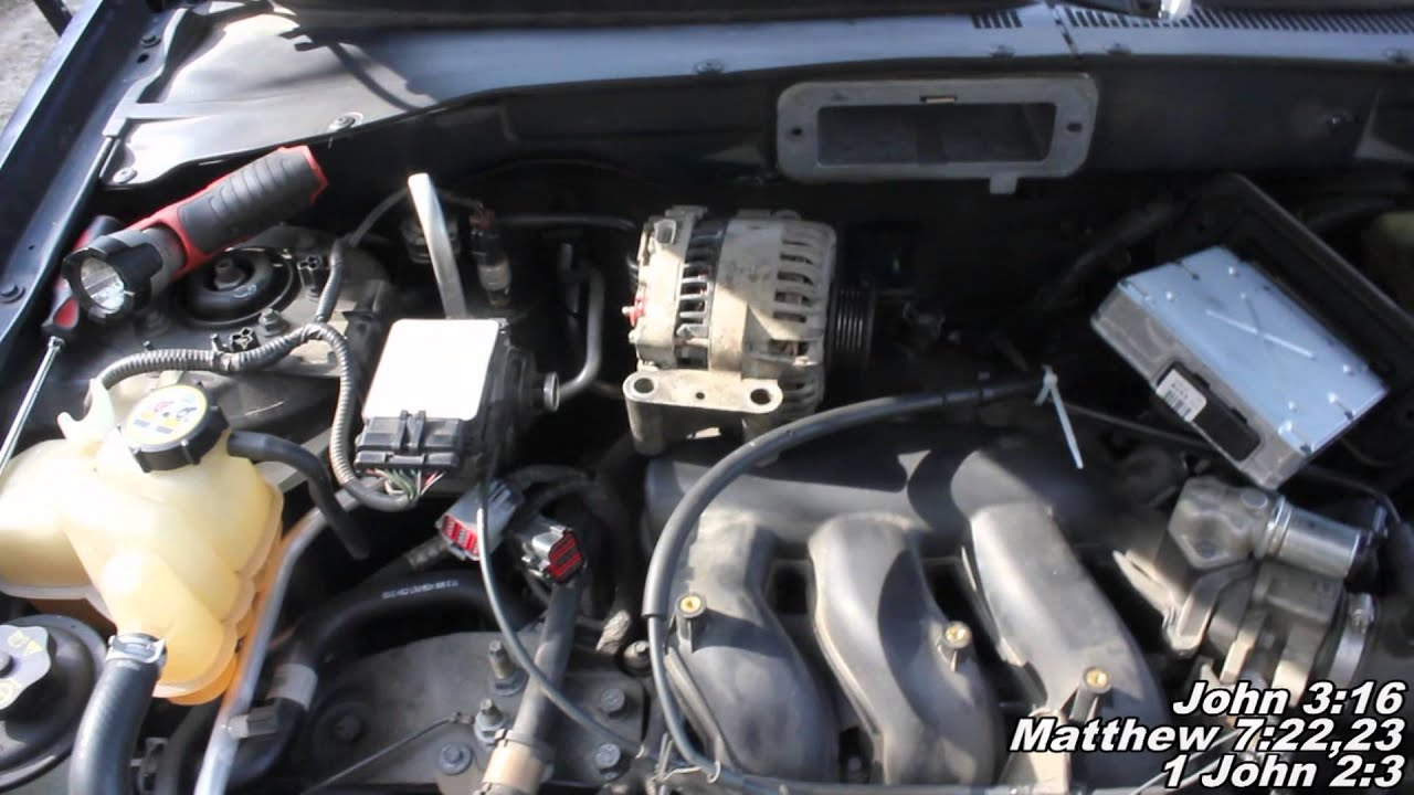 "Alternator Install ""How to"" Ford Escape - YouTube"
