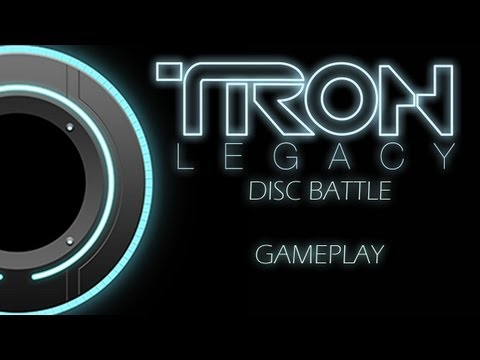 TRON Legacy - Disc Battle Gameplay